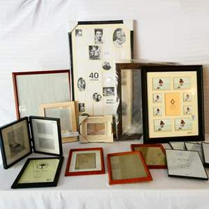 Lot # 37-Frames, Frames, Frames! See all pictures- many never used!