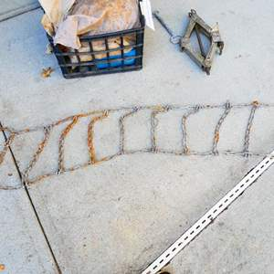 Lot # 53- Six sets of snow chains, various sizes