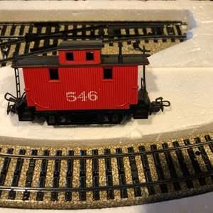 Lot # 31-Marklin Electric train set, in box