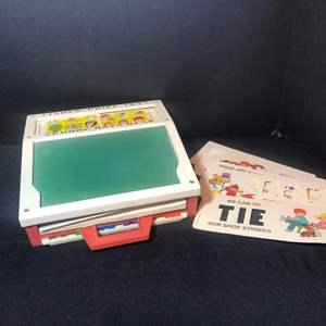 """Lot # 56-1972 Fischer Price """"School days desk"""""""