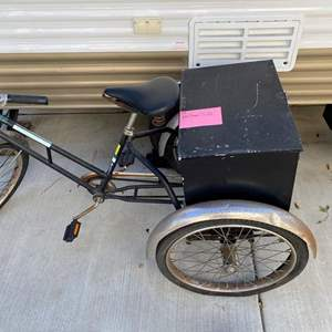 """Lot # 168-Classic """"Worksman"""" Tricycle"""