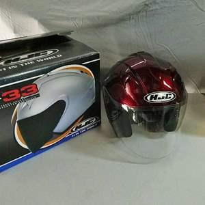 Lot # 226- HJC Helmet (medium) new in box