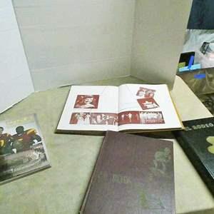Lot # 240-Vintage USC year books: 1945, 46, 47, 49