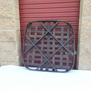 Lot # 253-Pottery Barn, NEW IN BOX! woven wall basket