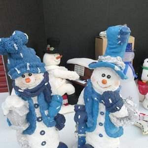 Lot # 274-SNOWMAN lot!