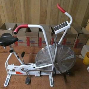Lot # 230-Schwinn Airdyne Workout stationary bike