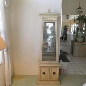 Lot # 2-Beautiful Curio cabinet