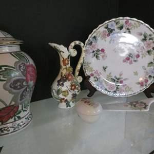 Lot # 17-Beautiful ceramics and more!