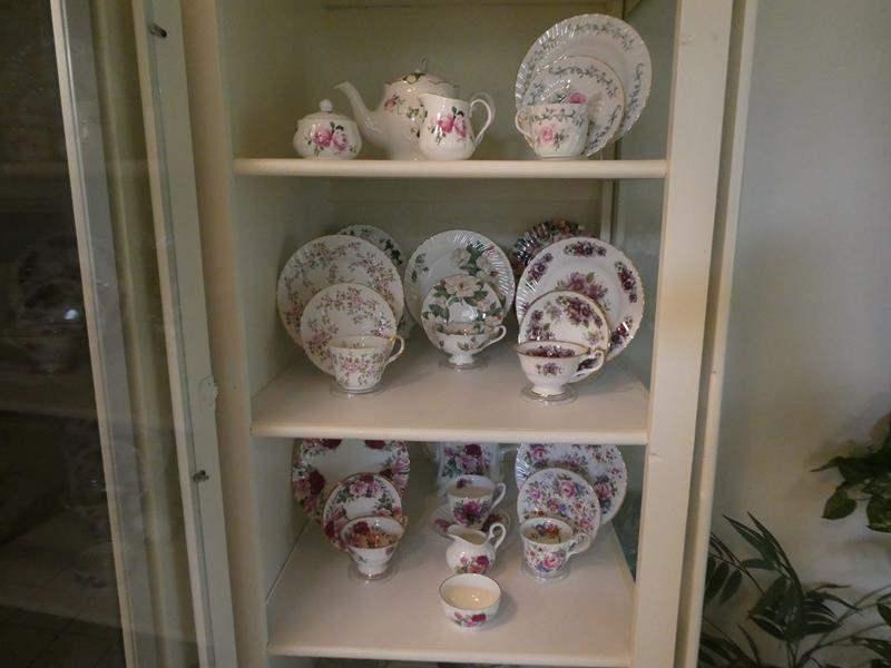 Lot # 18-Beautiful collection of FINE BONE CHINA Tea sets! (main image)