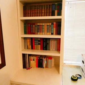 Lot # 223- Seven shelves full of books! Classics!
