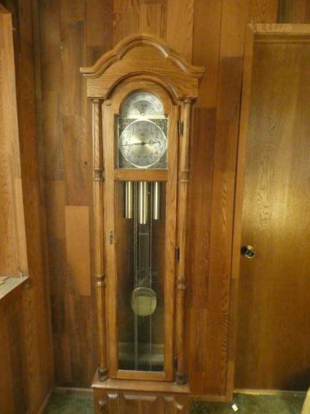 Lot # 226-Beautiful Ridgeway Grandfather clock (main image)