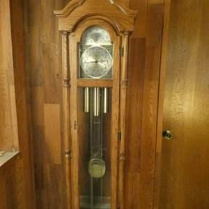 Lot # 226-Beautiful Ridgeway Grandfather clock
