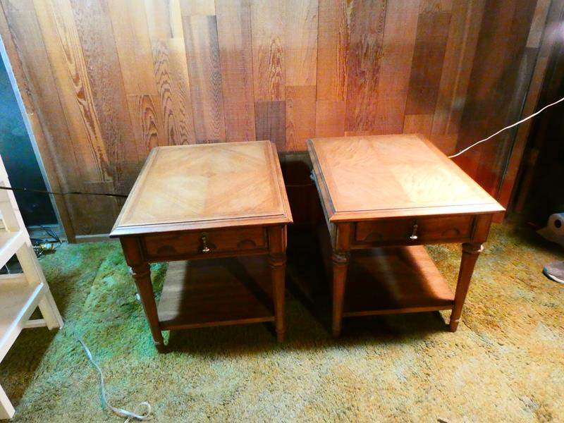 Lot # 302-Mid-Century end tables (main image)