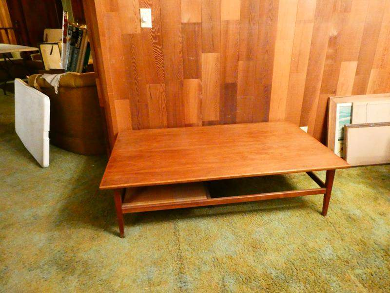 Lot # 309- Mid-Century coffee table- great condition (main image)