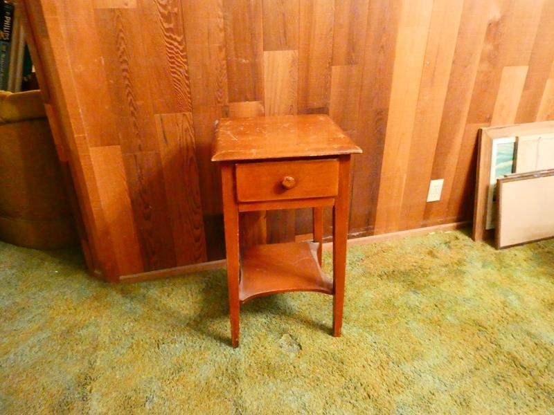 """Lot # 310-Vintage/ Mid-Century """"nite stand"""" (main image)"""