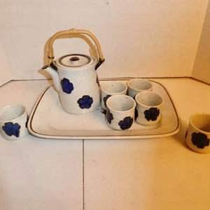 Lot # 1-Vintage tea set: Royal Ironstone China/ Alfred Meakin/ England