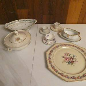 Lot # 11-Vintage fine China: V.A. Portugal, Vienna Ivory, and more, see all pictures