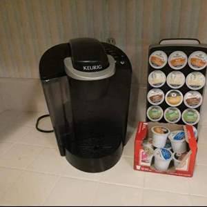 Lot # 26-Keurig single cup gourmet home brewing system with K-cup carousel