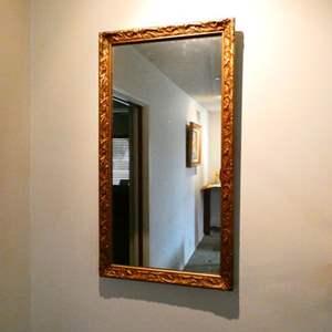 Lot # 202- Vintage ornate wall mirror