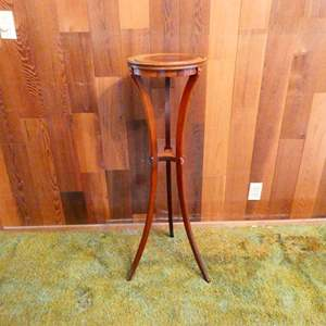 Lot # 221- Tall wooden Plant stand