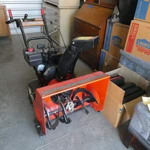 Lot # 22- Noma Canadiana Snow Blower (needs repairs)
