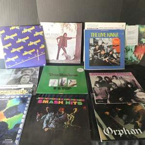 Auction Thumbnail for: Lot # 51- Classic rock vinyl albums: The kinks, Neil Young, Styx and more