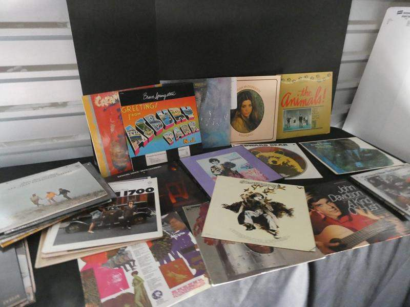 Lot # 52-Assorted vinyl albums with surprise treasures (main image)
