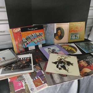 Auction Thumbnail for: Lot # 52-Assorted vinyl albums with surprise treasures