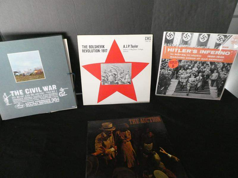 Lot # 53-Historical vinyl albums- see pictures (main image)