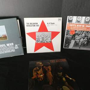 Lot # 53-Historical vinyl albums- see pictures