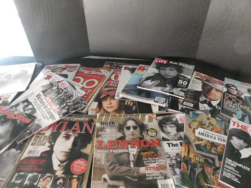 """Lot # 55- Collectors Edition magazines """"Rolling Stone"""" and """"Life"""" magazines (main image)"""