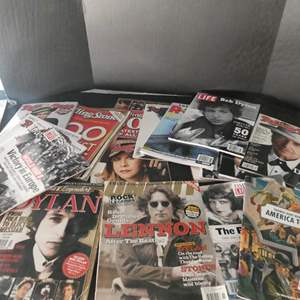 """Lot # 55- Collectors Edition magazines """"Rolling Stone"""" and """"Life"""" magazines"""