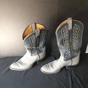 Lot # 57-Leather Cowboy boots- men's size 10D