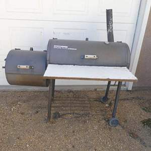 """Auction Thumbnail for: Lot # 138- """"Brinkmann"""" smoke' N pit Professional smoker, used, great condition"""