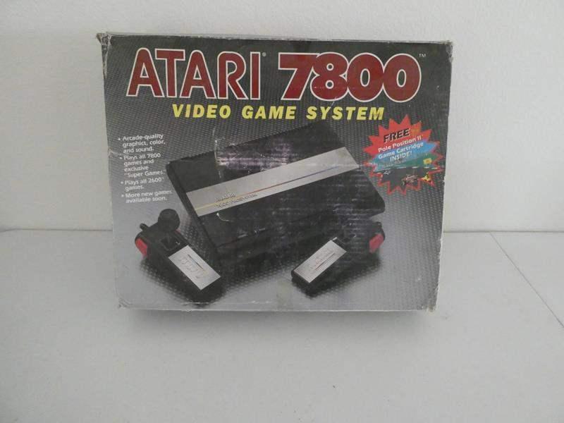 Lot # 111-Vintage Arari 7800 video game system, Pro system (main image)