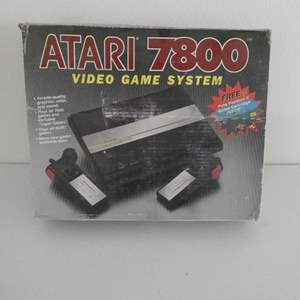 Auction Thumbnail for: Lot # 111-Vintage Arari 7800 video game system, Pro system