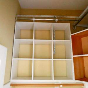 Lot #5 Cube storage, varying sizes- Total of four