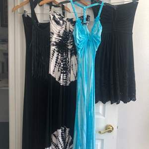 """Lot #9- Name Brand, High-end, """"Sky"""" dresses! Beautiful! Size small and XS"""