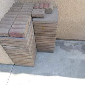 "Lot # 144 - 48 paving stones 12""x12"""