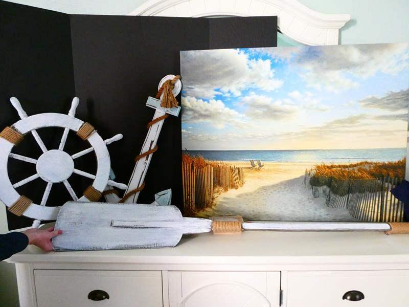 Lot #11- More beach home decor! (main image)