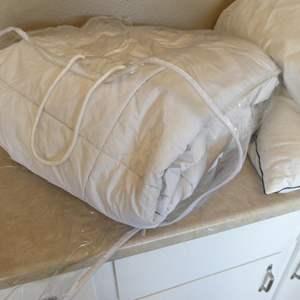 Lot # 120 - Ralph Lauren Down Comforter and 5 Pillows