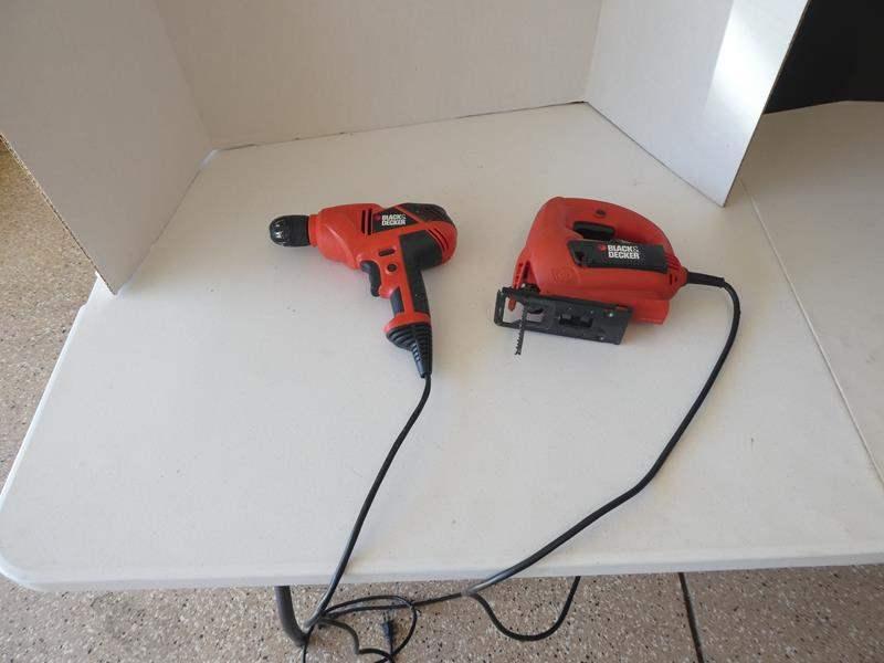 Lot # 125 - Black & Decker drill & jig saw (main image)