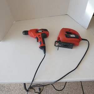 Lot # 125 - Black & Decker drill & jig saw