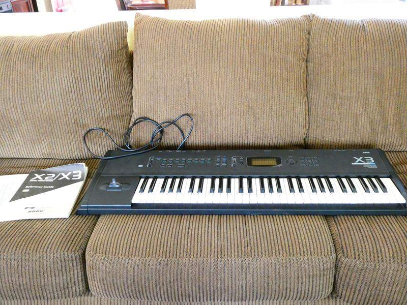 Lot #23 - KORG X3 music work station  (main image)