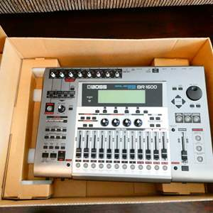 Lot #25- BOSS digital recording studio- New in box!