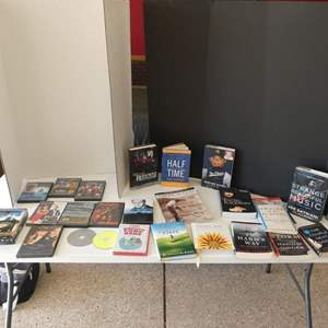 Lot # 141 - Books and DVD's
