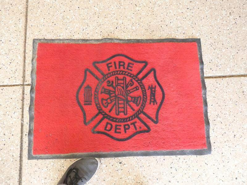 Lot # 142 - 4 Fire Fighter Dept floor mats (main image)