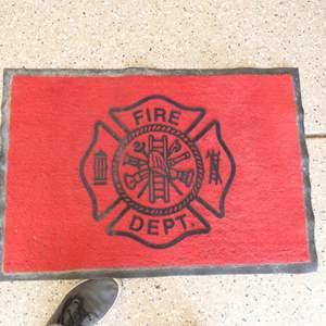 Lot # 142 - 4 Fire Fighter Dept floor mats