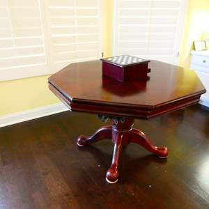 Lot #32- Game table/ dinning table with game center- see all pictures