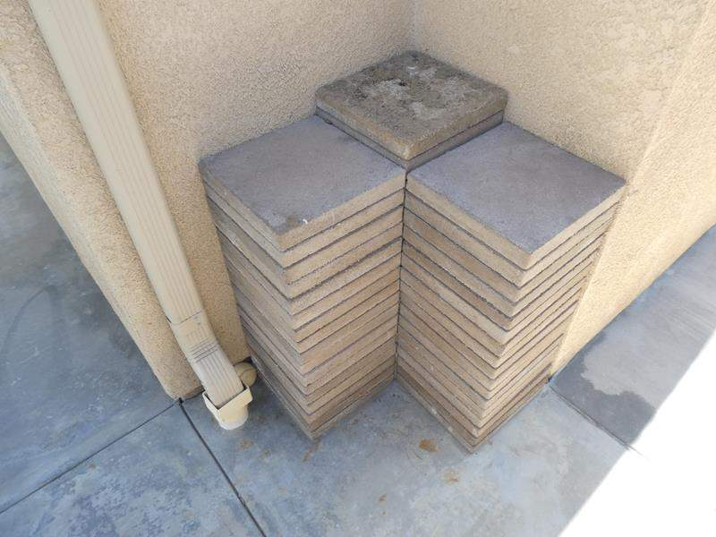 "Lot # 143 - 52 paving stones 12""x12"" (main image)"